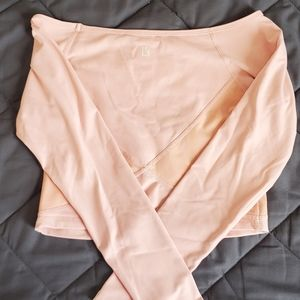 Buff Bunny Pink Long Sleeve Mesh Small